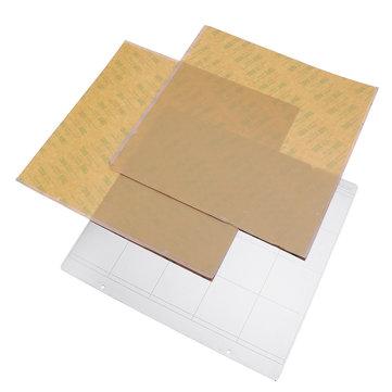 Original Hierro de cama caliente MK52 Placa 253.8 * 241 mm con 2pcs de PEI adhesivo para impresora 3D