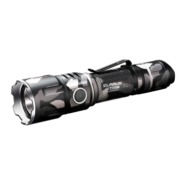KLARUS XT11GT Camouflage XHP35 HD E4 2000LM Outdooors Military Tactical LED Flashlight