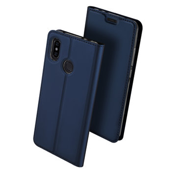 Dux Ducis Flip Magnetic Card Slot Full Body PU Leather Protective Case For Xiaomi Redmi Note 6 Pro