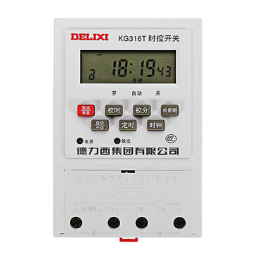 DELIXI® KG316T AC200V 10A Power Supply Time Timer Timing Switch