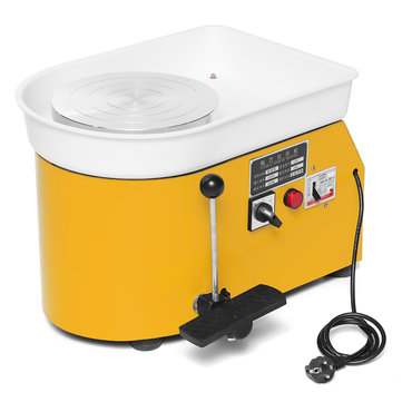 250W 220V Electric Pottery Wheel Machine Ceramic Machine Ceramics Clay Foot Pedal Art Ceramic