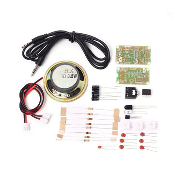 5pcs TAI-01 5V Infrared Audio Transceiver DIY Kit IR Sound Voice Infrared Transmission Module Kit