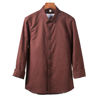 Mens Casual Solid Color Shirts