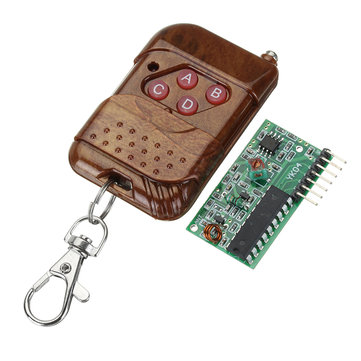 IC 2262/2272 4Channel 315MHZ Key Wireless Remote Control Kits Receiver module for Smart Robot Car