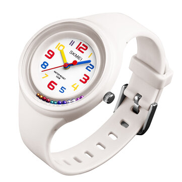 SKMEI 1386 Sport Style 5ATM Waterproof Children Watch