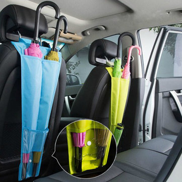 Honana HN-B10 Waterproof Car Umbrella Holder Back Seat Umbrella Hanging Organizer