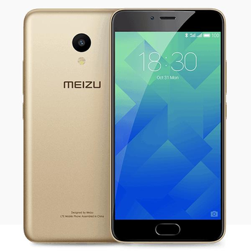Meizu M5 Global Edition 5.2 Inch 2.5D Fingerprint 2GB RAM 16GB ROM MTK6750 Octa Core 4G Smartphone