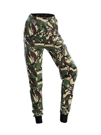 Plus Talla Sport Mujer Camuflaje Running Yoga Pantalones