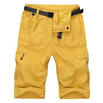 Uomo di estate Carico Shorts Respirabile Acqua brevi brevi brevi di rapida asciugatura traspirante