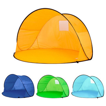 Fully Automatic Sun Shade Quick Open Pop Up Outdoor Camping Fishing Beach Summer Tent Uv Protection