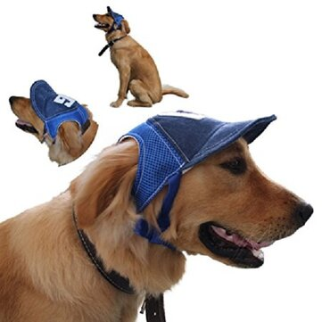 Yani HP-PT11 Adjustable Pet Hat Outdoor Travel Baseball Hat Sun Protective Dog Hat Summer Pet Hat