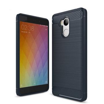 Простая резистивная устойчивость Soft Силиконовый TPU Назад Чехол Для Xiaomi Redmi 4 Pro