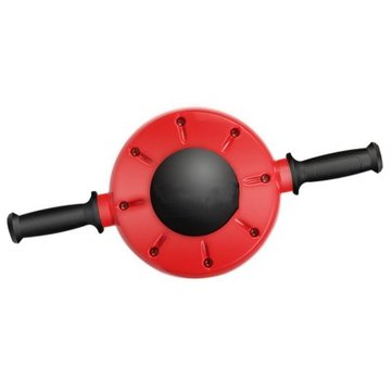LAOTIE The Removable Handle Non-Slip Rubber Handle Exercise Tools Fitness Abdominal Wheel