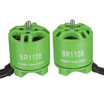 Racerstar 1108 BR1108 Green Edition 4000KV 6800KV Brushless Motor For RC Drone FPV Racing Multirotor