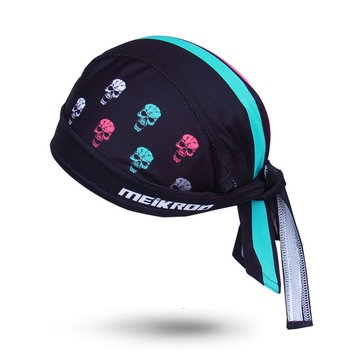 Men Women Cycling Bicycle Headband Anti Sweat Helmet Cap Multifunction Sports Breathable Hat