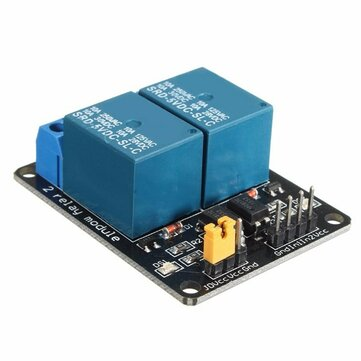 5V 2 Channel Relay Module Control Board With Optocoupler Protection For Arduino