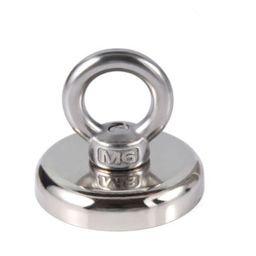 36mm Neodymium Recovery Magnet Metal Detector For Sea Fishing Diving Treasure Hunting