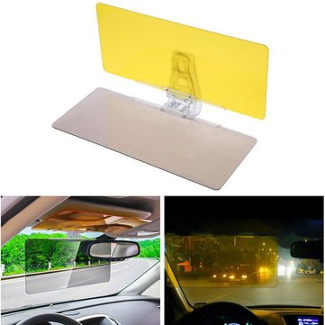 HD Transparent Windshield Car Sun Visor Day Night Vision Anti-glare Goggle Anti-dazzle Mirror