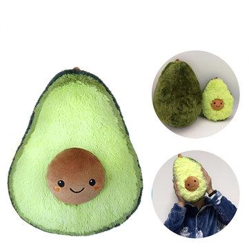 "8""/10""Cute Avocado Fruits Pattern Stuffed Plush Throw Pillow Toy Soft Back Cushion Gift Decoration"