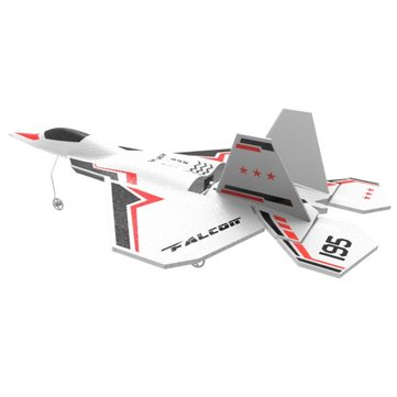 Eachine YF22 2.4G 6CH 220mm EPP Mini Warbird RC Airplane RTF With Self-stability Flight Control