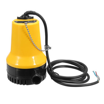 DC 24V 50W Mini Submersible Pump Electric Immersible Pump Bilge Water Pump Clean Dirty Pool Pond