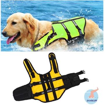 Dog Pet Float Life Jacket Life Vest Aquatic Safety Swimming Suit Boating Life Jacket