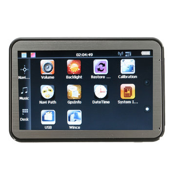 4.3 Inch HD Screen Car Portable Navigation Car GPS Navigation Sat Nav System