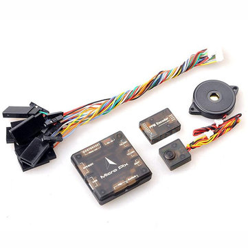 Mini MicrPix 32 bit Pixhawk 2.4.6 PX4 Flight Controller with Pwm to PPM Signal Converter Buzzer Case