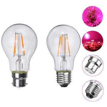 E27 B22 4W A60 COB調光不可能なLEDは、植物水耕温室AC85-265Vのための電球を成長させる