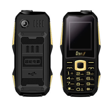 DBEIF F9 1.77 Inch 800mAh Bluetooth Voiceking Flashlight MP3 Dual Sim Card Mini Feature Phone