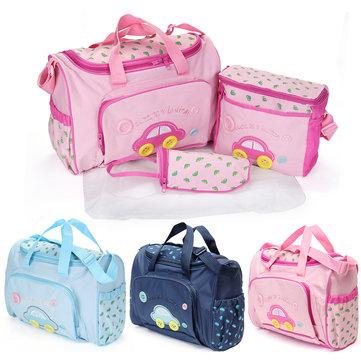 자동차 패턴 베이비 케어 기저귀 기저귀 엄마 가방 아기 기저귀 가방 스토리지 핸드백