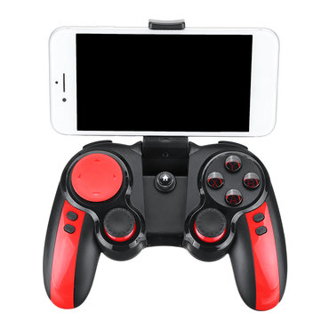 Ipega PG-9089 Bluetooth Wireless Gamepad with Phone Holder Clip for PUGB Mobile Game