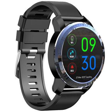 Kospet Optimus Dual Chip System 4G AMOLED Google Play GPS/GLONASS 2G+16GB|MIRROR BLACK|International7Days Long Standby Smart Watch Phone Black