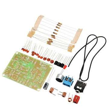 10Pcs FM Transmitter Kit RF-02 Wireless Microphone Parts MP3 Repeater Micro Transmitter With Antenna