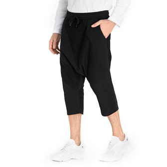 Mens Soild Color Harem Pants