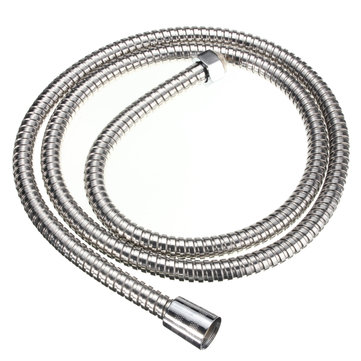 1.5m Stainless Steel Shower Head Hose Bathroom Flexible Water Pipe