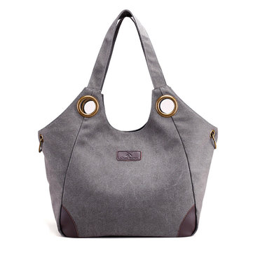 Women Canvas Handbag Casual Tote Shoulder Bag