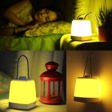 Rechargeable Dimmer LED Night Light Hanging Lamp Carry Lantern Home Decoration