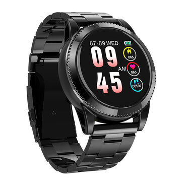 LYNWO M11 1.3 inch Breathing Lamp Music HR Blood Pressure Oxygen Multi-sport Modes Smart Watch