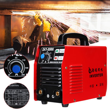 ZX7-200G 20-200A 220V IGBT Mini Handheld Welding Machine Inverter
