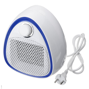 220V 1200W Mini Heater Fan Protable Electric Air Heater Cool and Hot Setting for Home Office