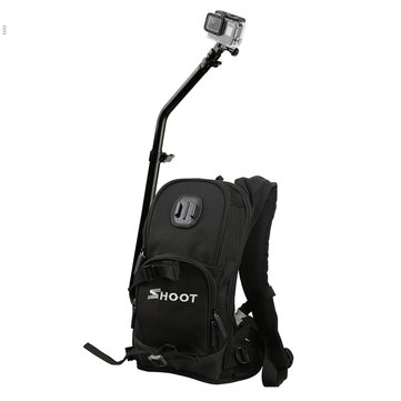 SHOOT Motorcycle Bicycle Selfie Backpack for GoPro Camera Backpack