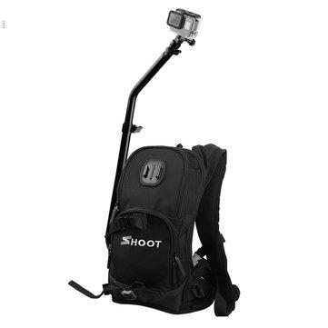 SHOOT Motorcycle Bicycle Selfie Backpack for GoPro Camera Backpack