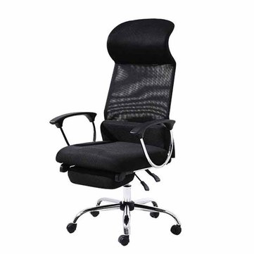 Simple Office Reclining Laptop Desk Lunch Chair Lifting Rotary Pulley Chair