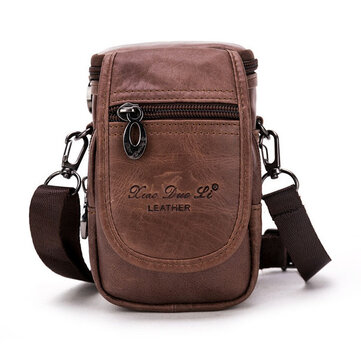 Men Outdoor Leisure Sports Waist Bag Multifunction Crossbody Shoulder Bag