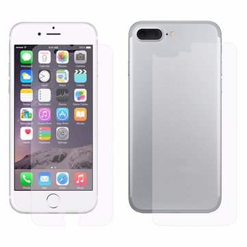 ENKAY PET HD Front+Back Phone Screen Protective Film Protector for iPhone 7 Plus/8 Plus