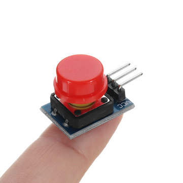 Big Key Module Push Button Switch Module With Hat High Level Output