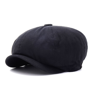 Newsboy Beret Cap Outdoor Casual Visor Cabbie Hat