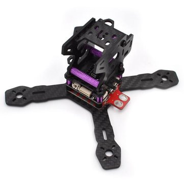 Realacc RX130 RX150 130mm 150mm 3mm Arm Carbon Frame Kit with 5V/12V PDB XT60 Plug for RC Drone FPV Racing
