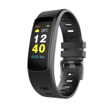 iWOWN i6HR C 0.96inch IPS Heart Rate Monitor Pedometer Sport Mode Bluetooth Smart Bracelet Wristband